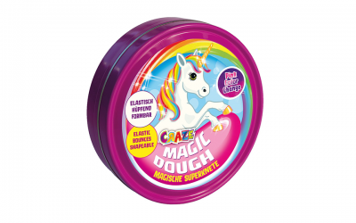 Craze 58917 – Intelligente Superknete, Magic Dough Unicorn, circa 80 g in Dose, BPA- und glutenfrei, Sortiert