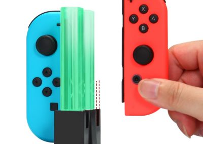 KINGTOP 4 in 1 Ladegerät Nintendo Switch Controller Joy-Con Lade Dock mit LED-Anzeige5