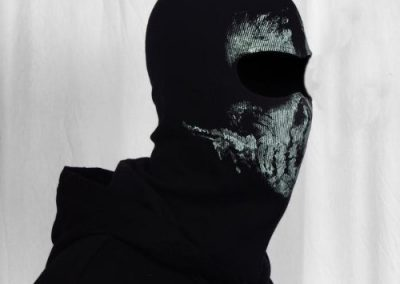 LandPure@ Call of Duty Geister Schädel-Maske Balaclava Hood Ghosts Skull Mask5