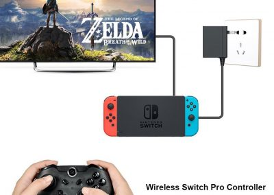 Maexus Switch Controller, Wireless Controller für Nintendo Switch, Bluetooth Nintendo Switch Pro Controller, 5.1.0 Kompatibel5