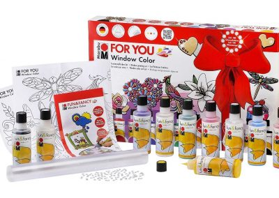 Marabu 040600116 - Window Color Set-For You, 80 ml 2