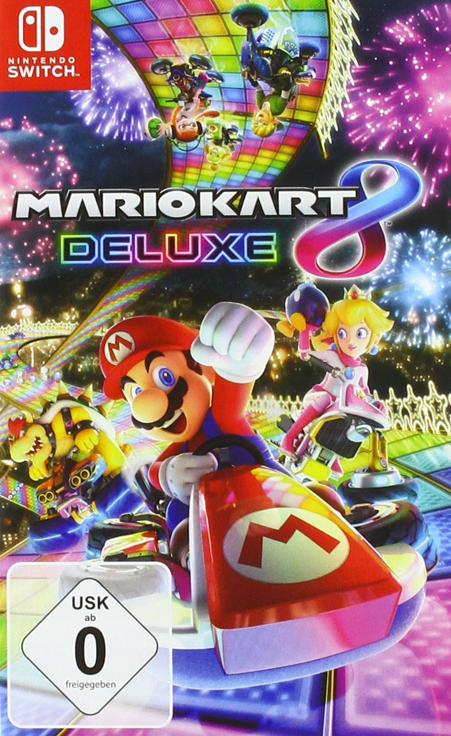 mario kart 8 deluxe nintendo switch games. Black Bedroom Furniture Sets. Home Design Ideas