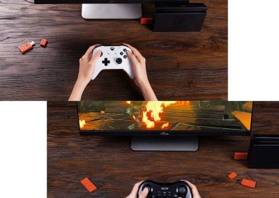 Mcbazel 8Bitdo Wireless Bluetooth Adapter für Nintendo Switch Windows Mac & Raspberry Pi2