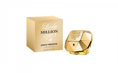 Paco Rabanne Lady Million femme/woman, Eau de Parfum, Vaporisateur/Spray, 1er Pack (1 x 80 ml)