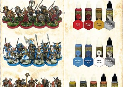 The ArmyPainter Set für Miniaturmalerei, Warpaintsmega Malerei Set 33